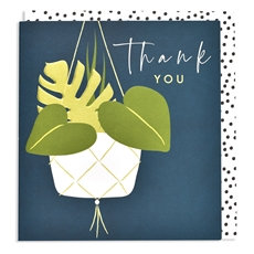 Thank you hanging plant
