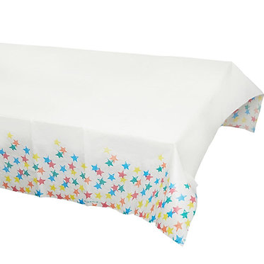 Birthday Brights Star Paper Table Cover