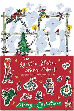 Quentin Blake Sticker Advent Calendar