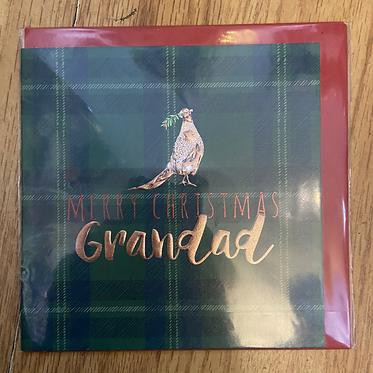 Merry Christmas Grandad