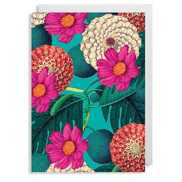 Kew Gardens Floral Wrap Single Sheet