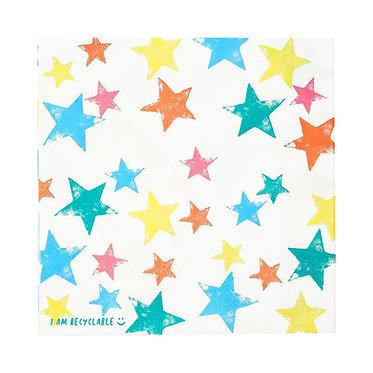 Birthday Brights Star Napkins3.75