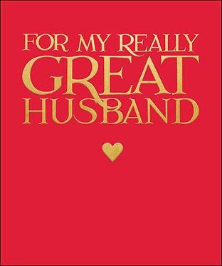 Emma Bridgewater Great Husband Card