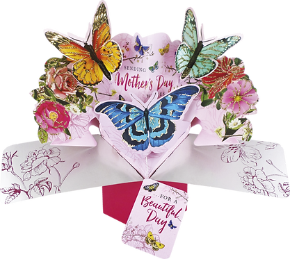 Mother's Day 3d Pop Up Butterfly