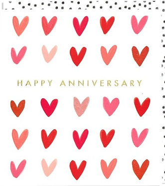 Anniversary Cards by Think of Me Designs