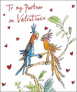 Quentin Blake Partner Valentine's