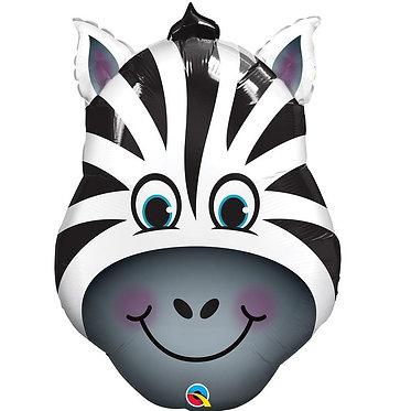 Supershape Zebra Helium Balloon