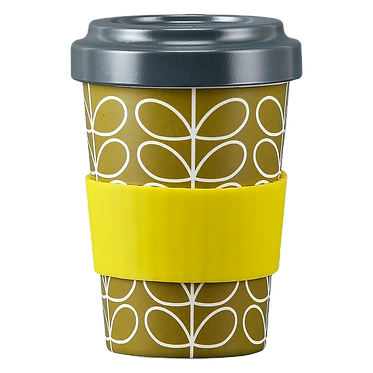 Orla Kiely Reusable Bamboo Travel Cup
