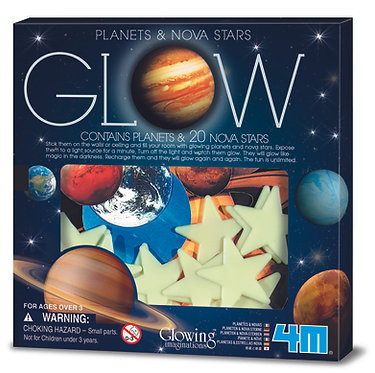 Glow Planets and Nova Stars