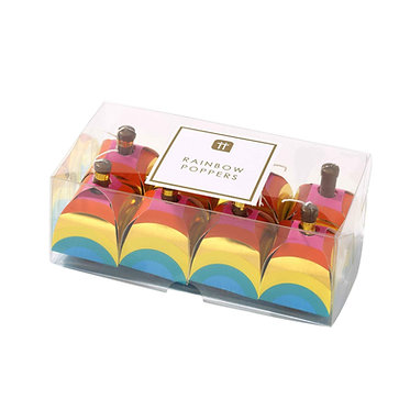 Birthday Brights Rainbow Party Poppers
