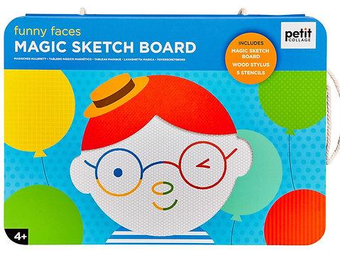 Magic Sketch Board - Funny faces