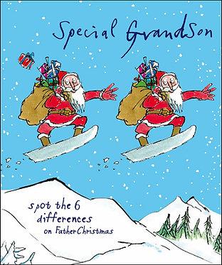Grandson Christmas Cards