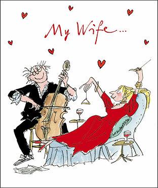 Quentin Blake Wife Valentine's