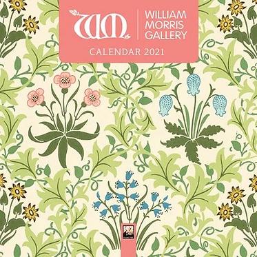 William Morris Small 2021 Calendar