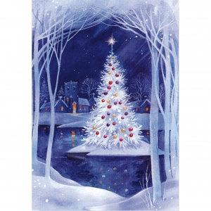 Peter Pauper Christmas Card Box