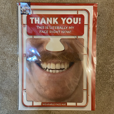 Thank you mask