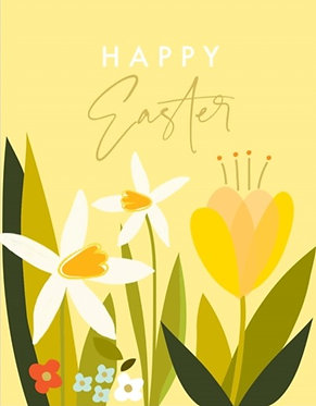 Easter Daffodils by Think of Me