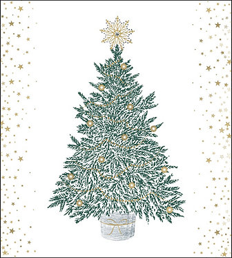 Charity Pack Christmas Cards Christmas Tree