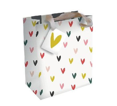 Caroline Gardner Heart Gift Bag