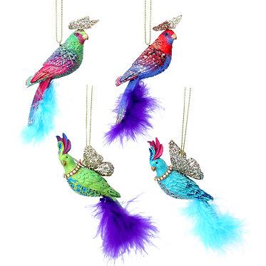Fantasy Parrot Hanging Dec