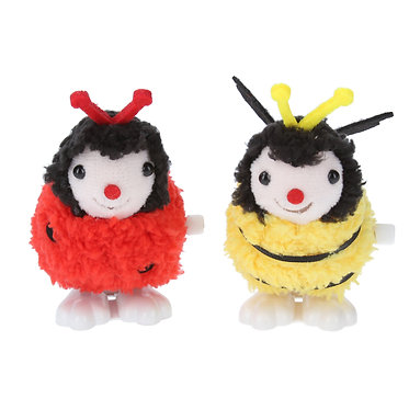 Plush Wind Up Jumping Toy