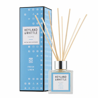 Fresh Linen Reed Diffuser 100ml by Heyland & Whittle