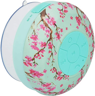 Singing in the Shower  Bluetooth Speaker - Pink Floral