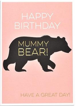 Think Of Me Designs Mummy Bear Card