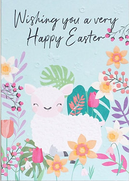Easter Lamb by Belly Button Designs