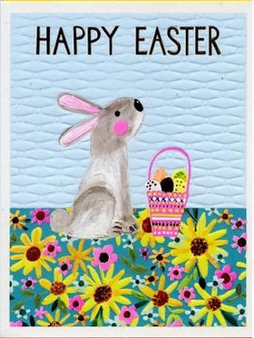 Easter Bunny Card by Paper Salad