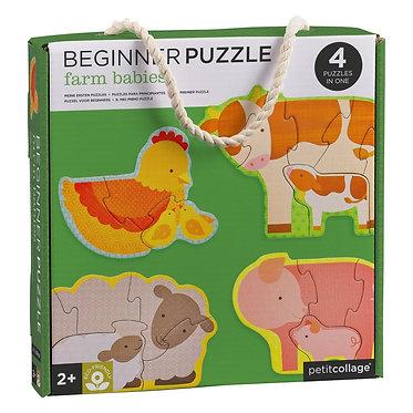 Beginner Puzzle Farm Babies