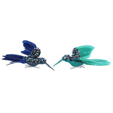 Blue Bird Clip