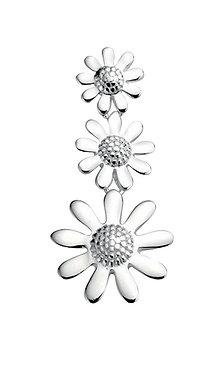 Triple Flower Pendant