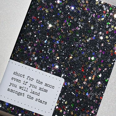 A6 Sparkle Soft Cover Notebook