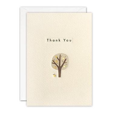 Ingot Tree Thank You Card