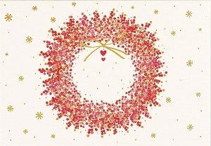 Peter Pauper Christmas Cards Winterberry Wreath
