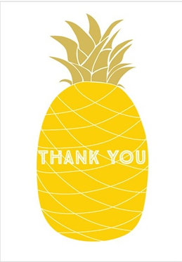 Thank You Pineapple