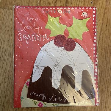 Christmas Pudding Grandma