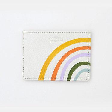 Rainbow Card Wallet by Caroline Gardner