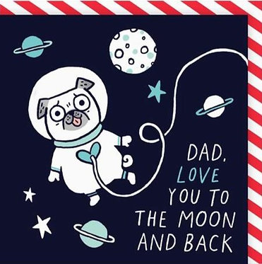 Dad Love You To The Moon
