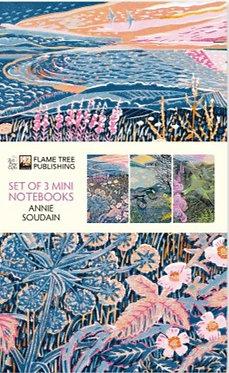 Annie Soudain Mini Notebooks Set of 3