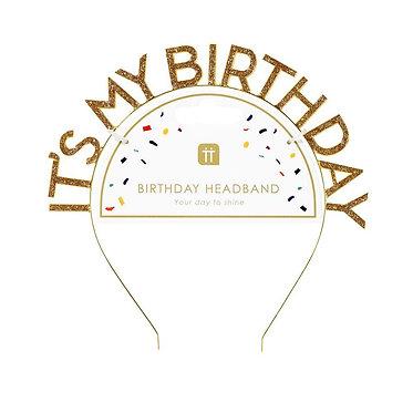 Gold Birthday Tiara