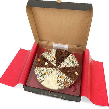 """Delicious Dilemma 7"""" Chocolate Pizza"""