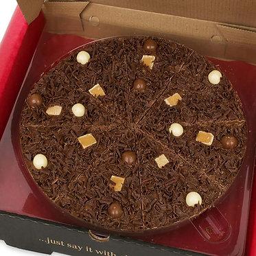 Heavenly Honeycomb Chocolate Pizza - 7 inch