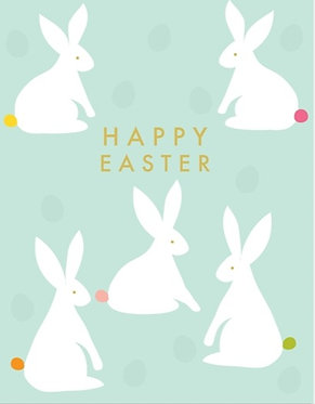 Happy Easter Bunny by Think of Me