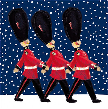 Charity Pack Christmas Cards Guardsmen