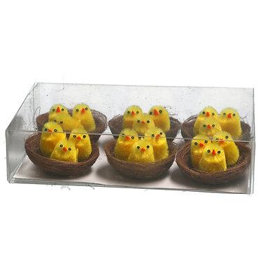 Chicks in Nest Easter Dec