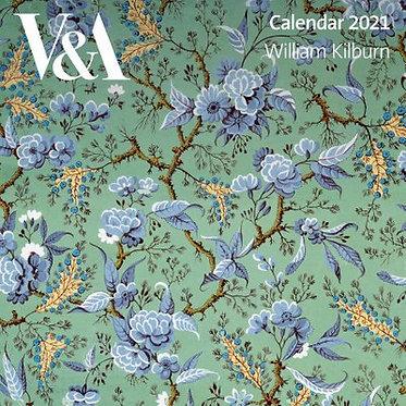 William Kilburn 2021 Wall Calendar