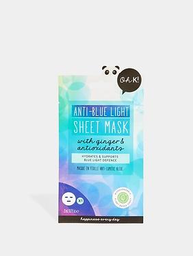 Anti-Blue Light Sheet Mask
