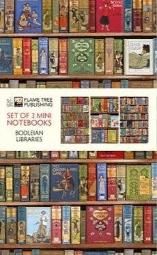 Bodleian Libraries Mini Notebooks Set of 3